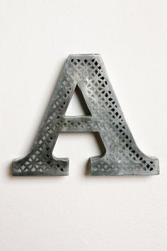 Acid Etched Letter from Urban Outfitters, $10 (have)