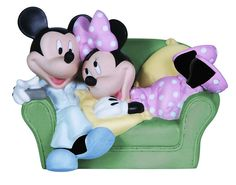Mickey Mouse Together is the Nicest Place to Be Minnie Precious Moments Disney. Cake Topper?