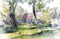 My dad and I are going to have a Plein Air watercolor painting date in Spring. Lots of great inspiration out there!