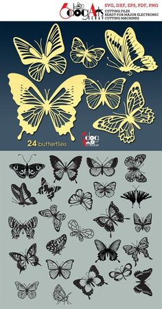 1 million+ Stunning Free Images to Use Anywhere Butterfly Wall Art, Chinese Butterfly, Butterfly Pattern, Paper Art, Paper Crafts, Cricut, Free To Use Images, Paper Cutting, Die Cutting