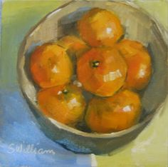 Lighting the Candle: Bowl of Clementines
