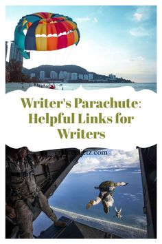 Writing fiction is like jumping out of a plane. It's all about the preparation. That's the part we can control. The parachute may open slow or fast, but if we've put in the work, it should open. Likewise, the more writing tools and resources we use, the better we get at using them, the better chance our story will have once we release it out into the world. Writing Process, Writing Skills, Free Online Writing Courses, Plotting A Novel, Creative Writing Tips, Fiction Writing, Writing Resources, Writing Inspiration, Nonfiction