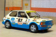 Scalextric Tecnitoys 6434. Seat Fura Crono. Subida Montseny 1983. Fermín Vélez. #slotcar