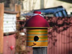 The Coffee-Can Birdhouse   Have you checked out the prices on bird houses lately? They can really put a dent in your pocket book if you're looking for just the right one. I however have found the perfect project to solve that problem for you....