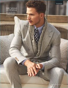 British GQ highlights Italian tailoring for an editorial in its January 2017 issue. Nathaniel Visser suits up for the story, connecting with stylist, Tom Stubbs. Photographer Arnaldo Anaya-Lucca captures the sartorial outing. Taking to the city streets, Nathaniel dons fashions from Bottega Veneta, Giorgio Armani, and Ermenegildo Zegna. The Australian model showcases sharp suiting ensembles... [Read More]