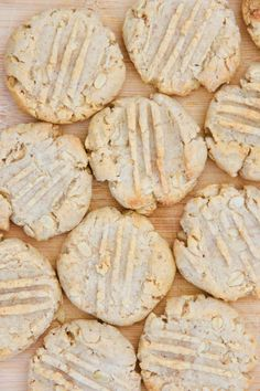 Nut butter cookies made in the Vitamix