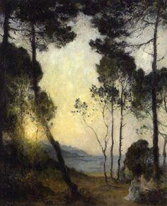 Artiste : Paul Charavel (français, 1877 - 1961) Titre : Rastende ...