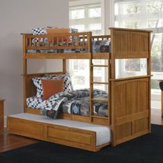 Nantucket Full over Full Bunk Bed - Full over Full Bunk Beds at Simply Bunk Beds