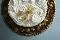 Lemon Meringue Pie by Cakebread *Callie Maritz and Mari-Louis Guy ) photography by Justin Patrick.