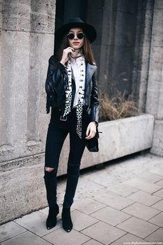 The Coolest Way To Wear A Fringe Jacket • The Fashion Cuisine