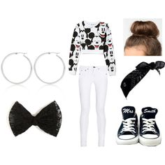 """""""Mickey Mouse Swagg"""" by hella-dope-virgo. Follow on Instagram @__amouurmaas__ (two underscores on each side) and on Polyvore for more fashion and other funny things."""