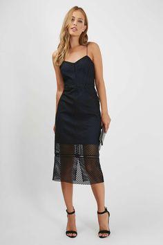Airtex Midi Dress - Dresses - Clothing - Topshop Europe