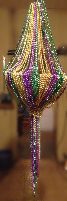 Mardi Gras Decor!!