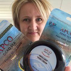FORÅRSTILBUD på sampak med 3 Dead Sea Care produkter: Muddermaske, fodbadesalt og creme eller lotion 199,00 kr