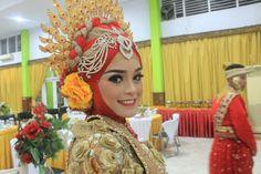 Bugis Red Gold Sugara' Wedding