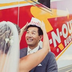 An In 'n' Out bar: | 23 Brilliant Wedding Bars From Couples Who Dared To Dream