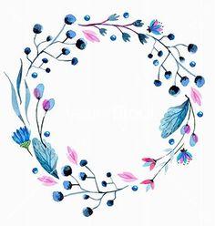 Resultado de imagem para watercolor floral vector