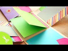 """Album Scrapbook """"Fold"""" // idea regalo - YouTube"""