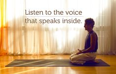 Listen to the voice that speaks inside 🙏🙏  #yogajournal #yogainspiration #MorningQuotes