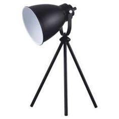 Lampa stołowa Spot Light Marla 1x60W E27 czarna 7010104 - 2 lata gwarancji producenta. Możliwość