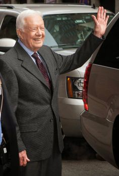 Times Square Gossip: PRESIDENT JIMMY CARTER HITS NEW YORK CITY