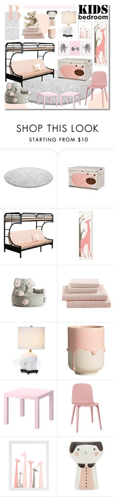 Kids bedroom - contest entry by valentina1 on Polyvore featuring interior, interiors, interior design, home, home decor, interior decorating, Muuto, Universal Lighting and Decor, Comfort Research and Evive Designs