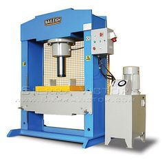 ITEM: 200 Ton Hydraulic Press,  MAKE: BAILEIGH®,  MODEL: HSP-200M-HD, CALL 386-304-3720, VISIT http://sierravictor.com/index.php?dispatch=products.view&product_id=3321