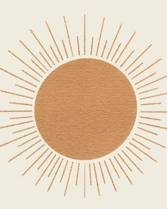 Sun Ray Mid-century Art Print by MoonlightPrint - X-Small Iphone Background Wallpaper, Aesthetic Iphone Wallpaper, Aesthetic Wallpapers, Sun Background, Boho Aesthetic, Beige Aesthetic, Photo Wall Collage, Picture Wall, Poster Mural