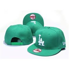 New Era Los Angeles Dodgers Snapbacks Hats - Green  Cheap Snapback Hats  Wholesale ee160e287df