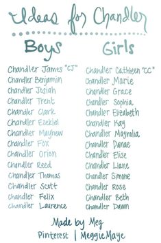 Middle Names For Girls