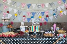 Circus-themed birthday party #birthdayparty #circustheme
