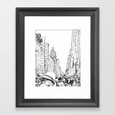San Fancisco 1920 Framed Art Print by artbymucha Framed Art Prints, Gallery Wall, San, Contemporary, Products