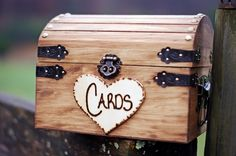 Shabby Chic and Rustic Wooden Card Box - Rustic Wedding Card Box - Rustic Wedding Decor - Advice Box - Piggy Bank on Etsy, $30.00