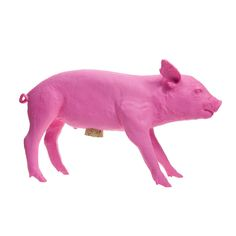 Bank In The Form Of A Pig Pink