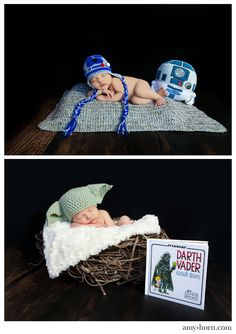 One day.. As much as my husbandloves star wars.. Too cute