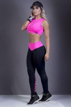 Moda fitness e lingerie com preço de fábrica fitness fashion in 2019 одежда Legging Outfits, Sporty Outfits, Cute Outfits, Leggings Fashion, Sport Style, Workout Attire, Workout Wear, Sport Fashion, Fitness Fashion