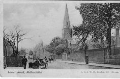 Old Rotherhithe - Pictures of Bermondsey & Rotherhithe Victorian London, Vintage London, Old London, East London, London Pictures, London Photos, Old Pictures, Old Photos, My Family History