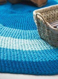 Häkelmuster: Teppich häkeln: Anleitung zum Nachmachen