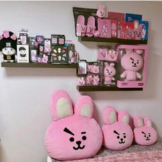 The official website for BTS Army Room Decor, Bedroom Decor, Ideas Decorar Habitacion, Bts Doll, Kpop Merch, Line Friends, Room Tour, Album Bts, Aesthetic Rooms