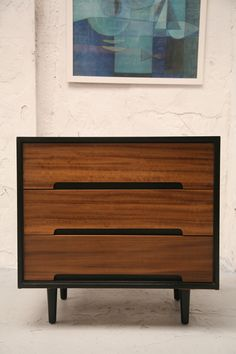 Stag 'C Range' Chest of Drawers 1960s For the top of the stairs, please Stephane