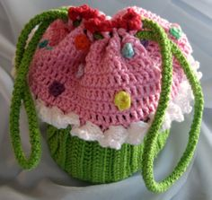 I used the cord for my cup cake purse. Thanks for all the published cup cakes that inspired this bag.