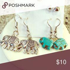 Earrings 115 Set of 4 pair of Earrings Jewelry Earrings
