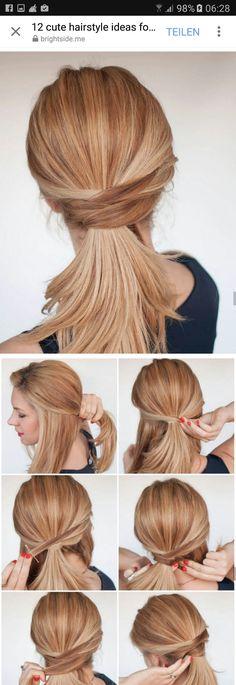 Brautfrisur – Haare – Frisur - New Site - - Brautfrisur - Haa. - Brautfrisur – Haare – Frisur - New Site - - Brautfrisur - Haare - Frisur - - Work Hairstyles, Elegant Hairstyles, Ponytail Hairstyles, Bridal Hairstyle, Ponytail Ideas, Updo, Black Natural Hair Care, Elegant Ponytail, Lace Front