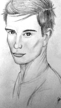 Tobias Eaton. Divergent. How I pictured him