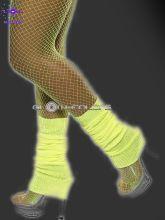 Chaussette danse fluo néon jaune