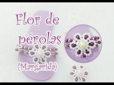 Flor de pérolas (Margarida) - YouTube
