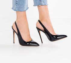 Penelope Sling Back Heel Stiletto Heels, Spring Summer, Boutique, How To Wear, Shoes, Fashion, Pumps, Heels, Moda