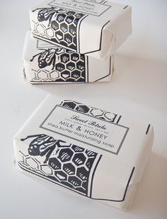 Milk & Honey Shea Butter Soap Bar by Sweet Petula via #etsy