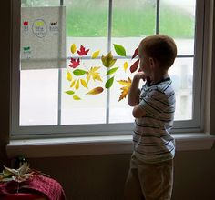 Toddler Boredom Busters: Contact Paper