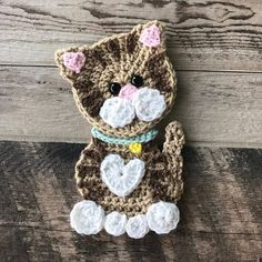 Searching for the perfect crochet applique pattern items? Shop at Etsy to find unique and handmade crochet applique pattern related items directly from our sellers. Chat Crochet, Crochet Mignon, Crochet Amigurumi, Crochet Dolls, Crochet Baby, Crochet Kits, Crochet Sloth, Cat Amigurumi, Crochet Applique Patterns Free